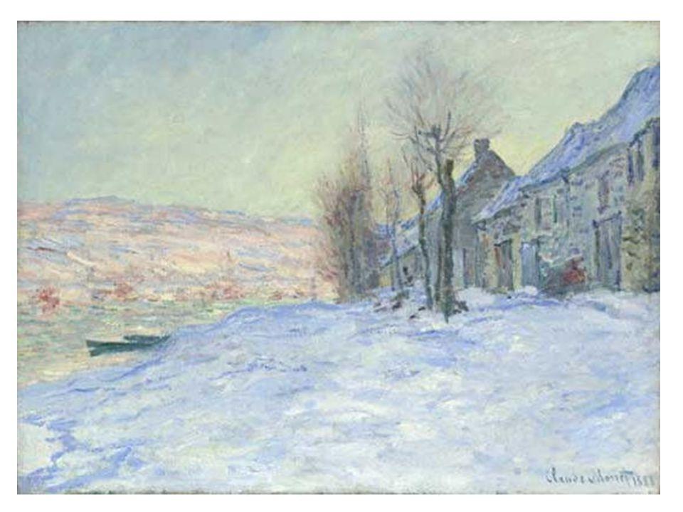 Lavacourt pod sněhem