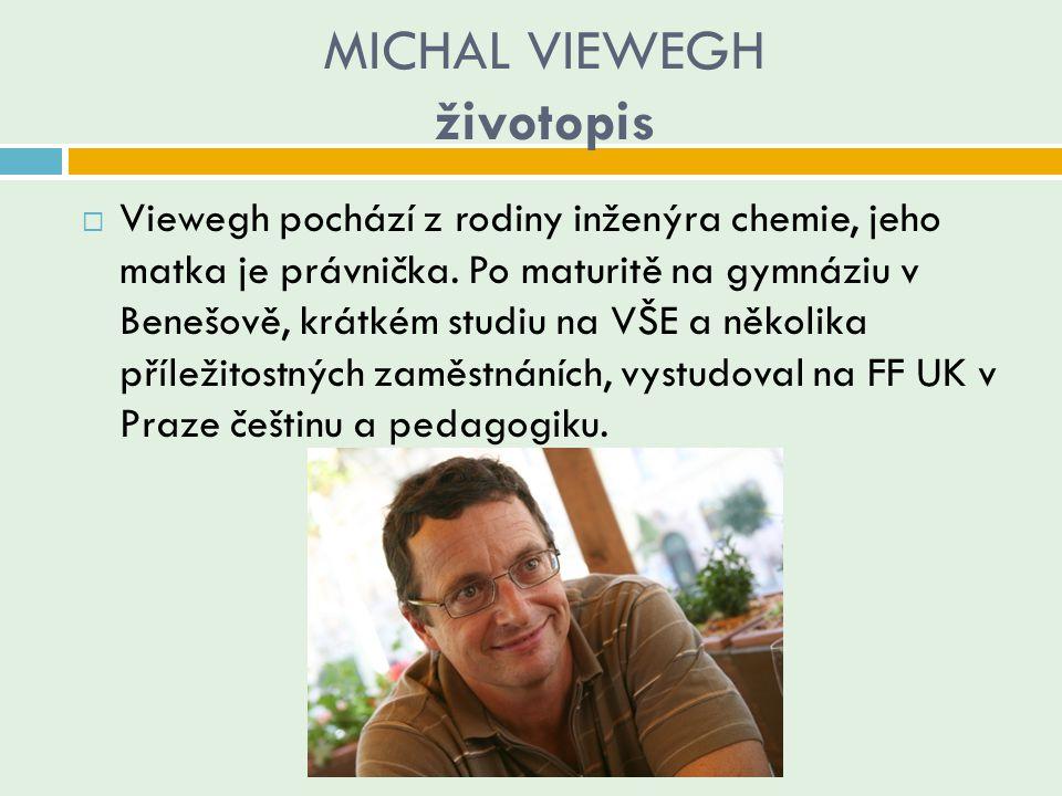 MICHAL VIEWEGH životopis