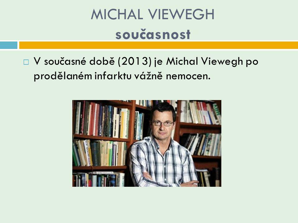 MICHAL VIEWEGH současnost