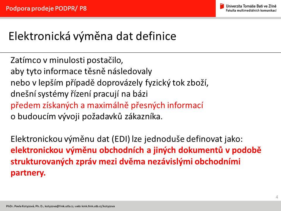 Elektronická výměna dat definice