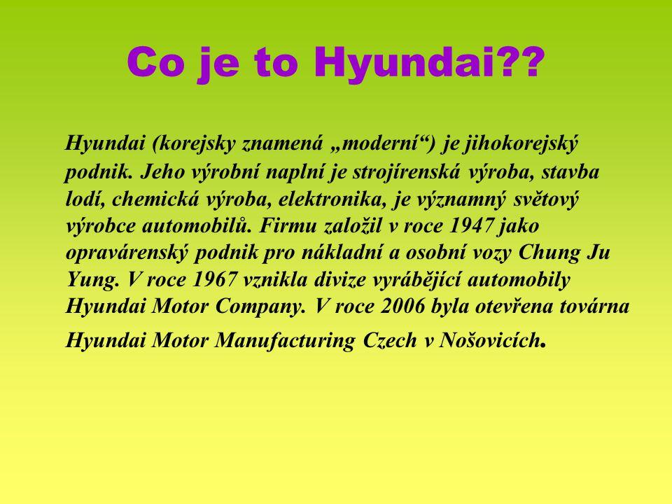 Co je to Hyundai