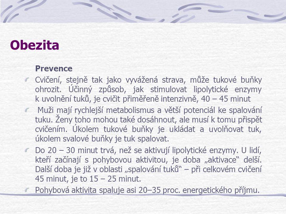 Obezita Prevence.