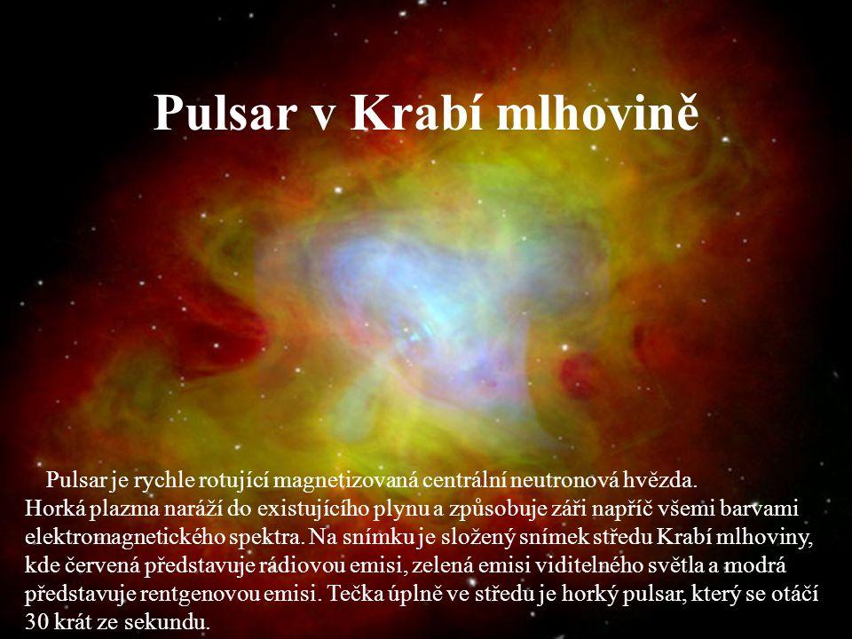 Pulsar v Krabí mlhovině