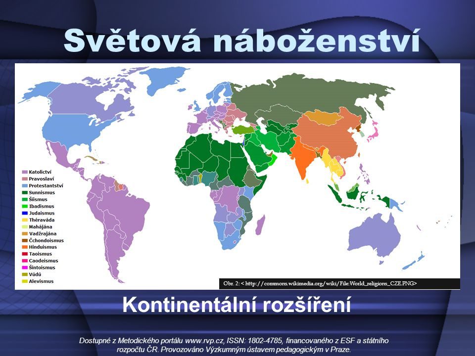 Kontinentální rozšíření