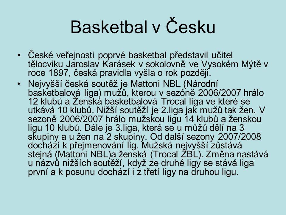 Basketbal v Česku