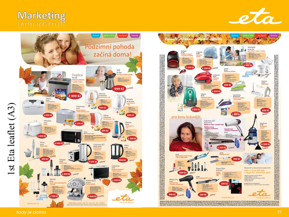 Marketing 1st Eta leaflet (A3)