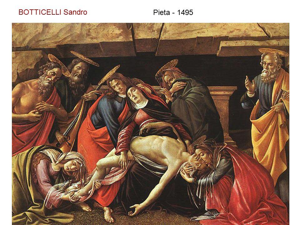 BOTTICELLI Sandro Pieta - 1495