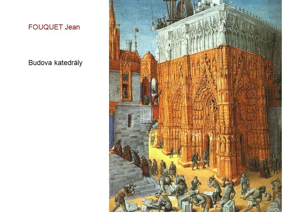 FOUQUET Jean Budova katedrály