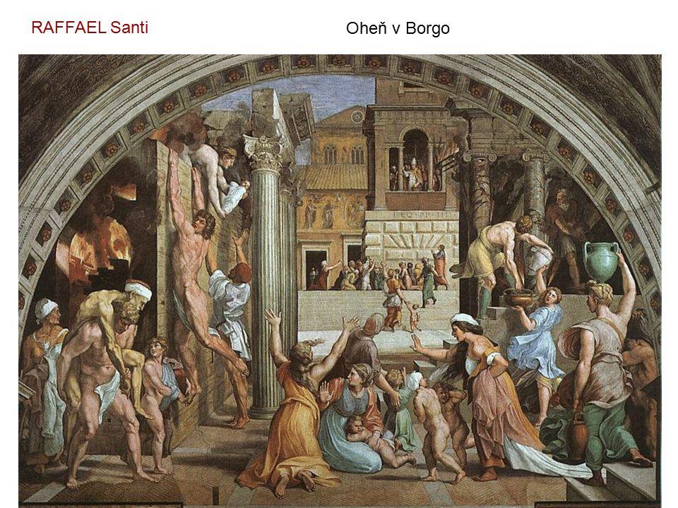 RAFFAEL Santi Oheň v Borgo