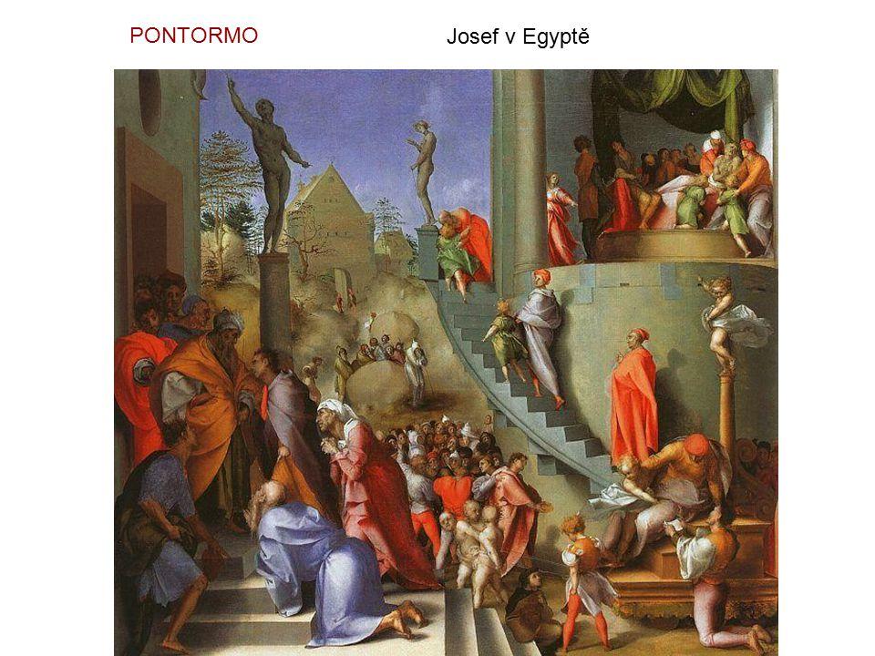 PONTORMO Josef v Egyptě