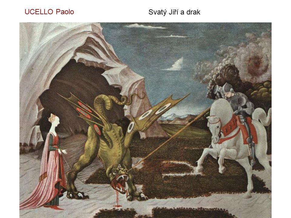 UCELLO Paolo Svatý Jiří a drak