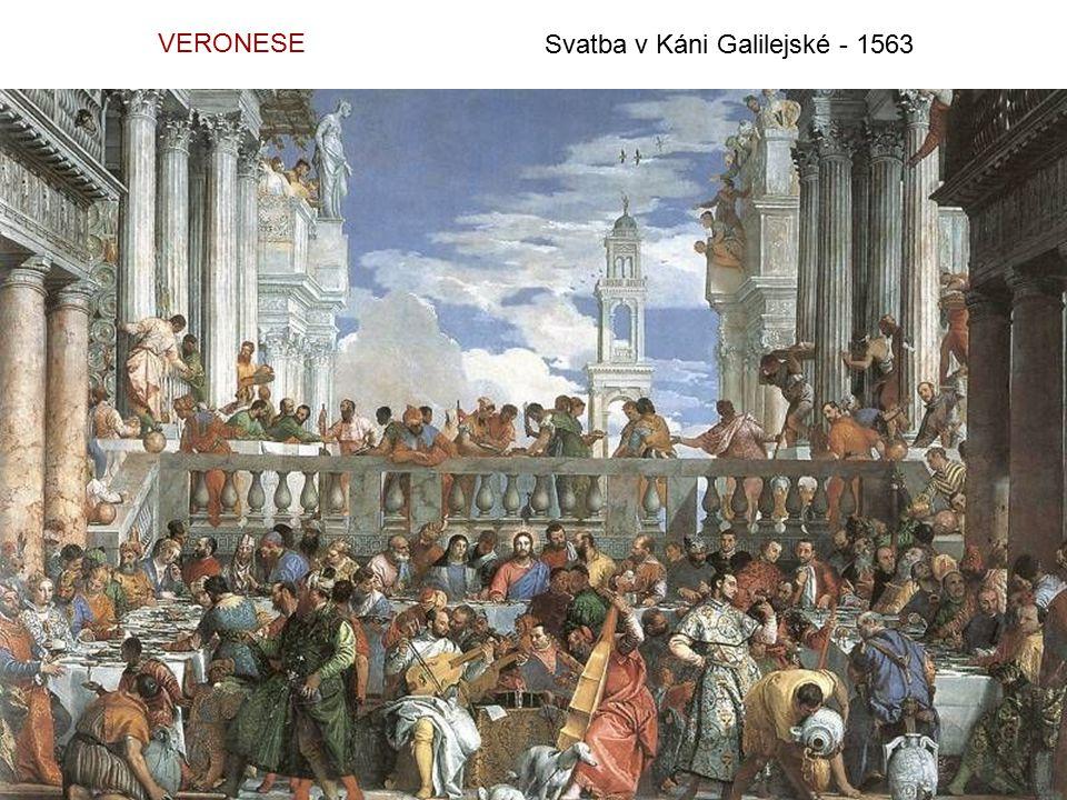 VERONESE Svatba v Káni Galilejské - 1563