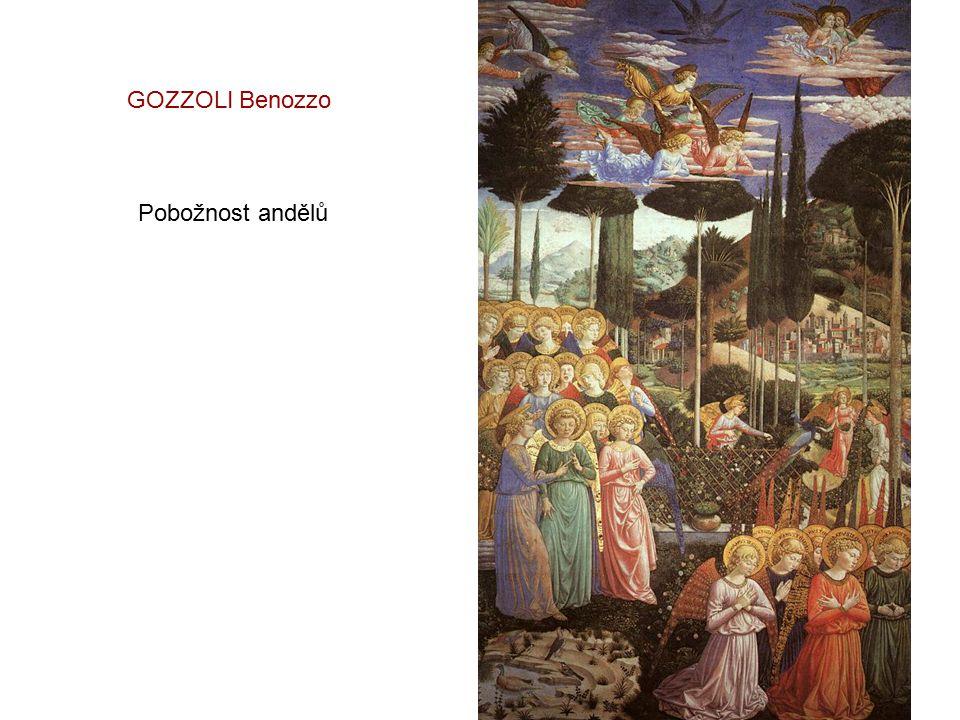 GOZZOLI Benozzo Pobožnost andělů