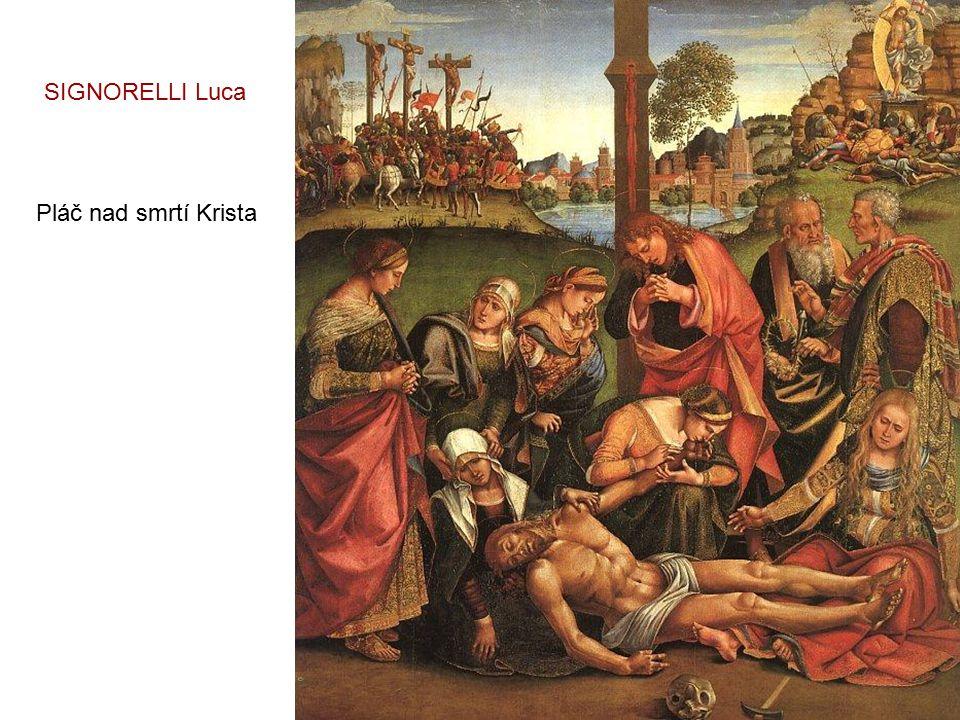SIGNORELLI Luca Pláč nad smrtí Krista