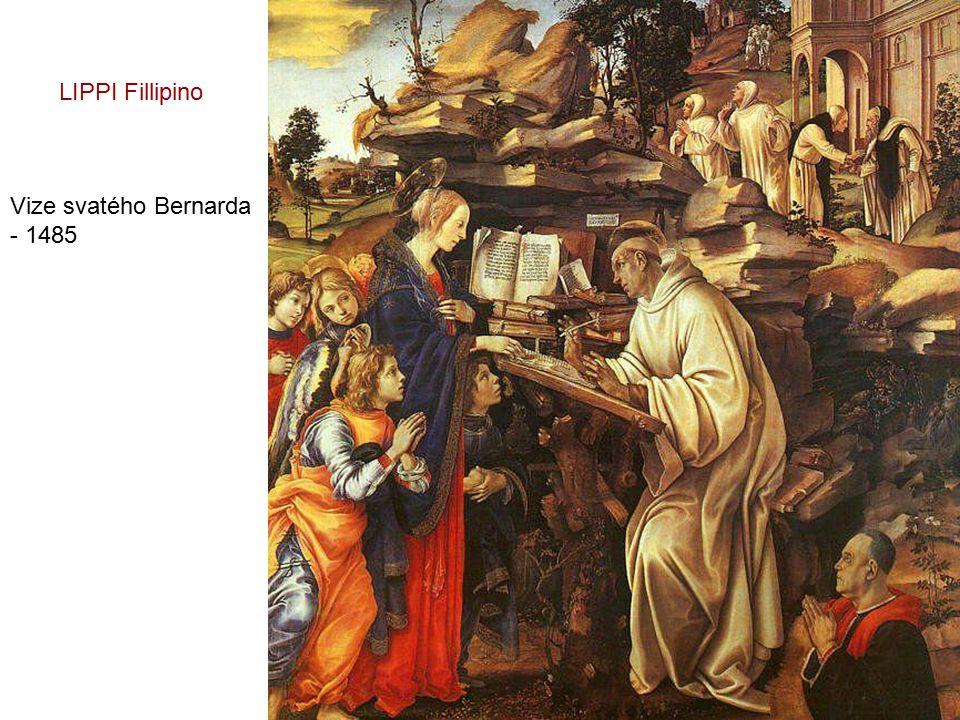 LIPPI Fillipino Vize svatého Bernarda - 1485