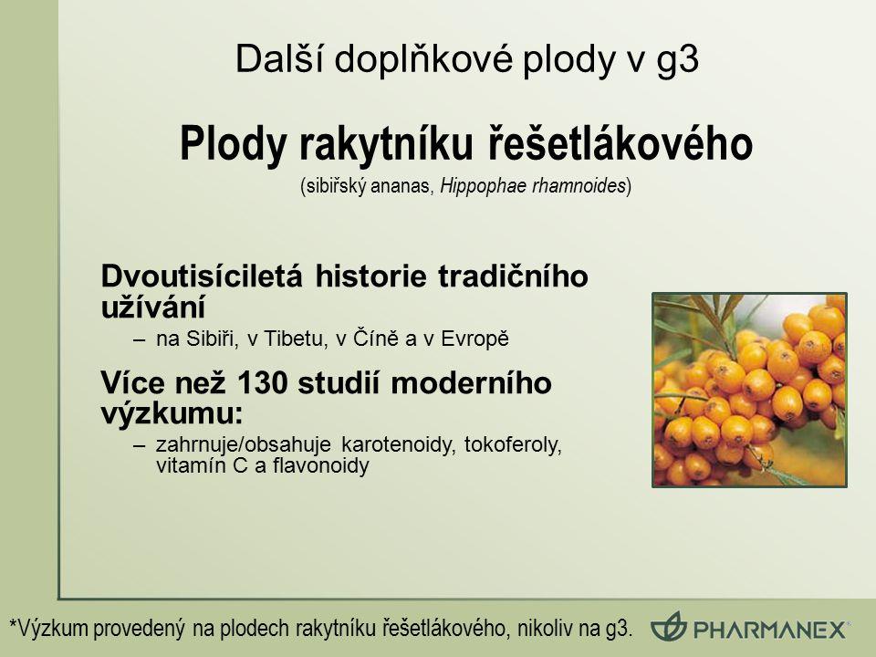 Plody rakytníku řešetlákového