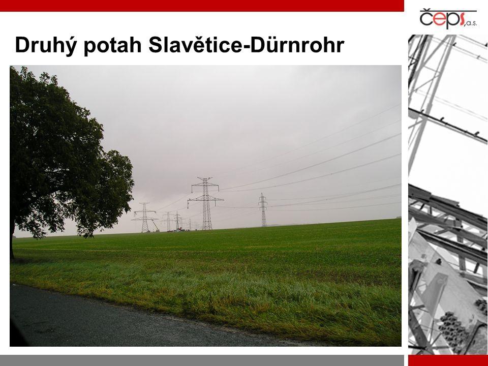 Druhý potah Slavětice-Dürnrohr
