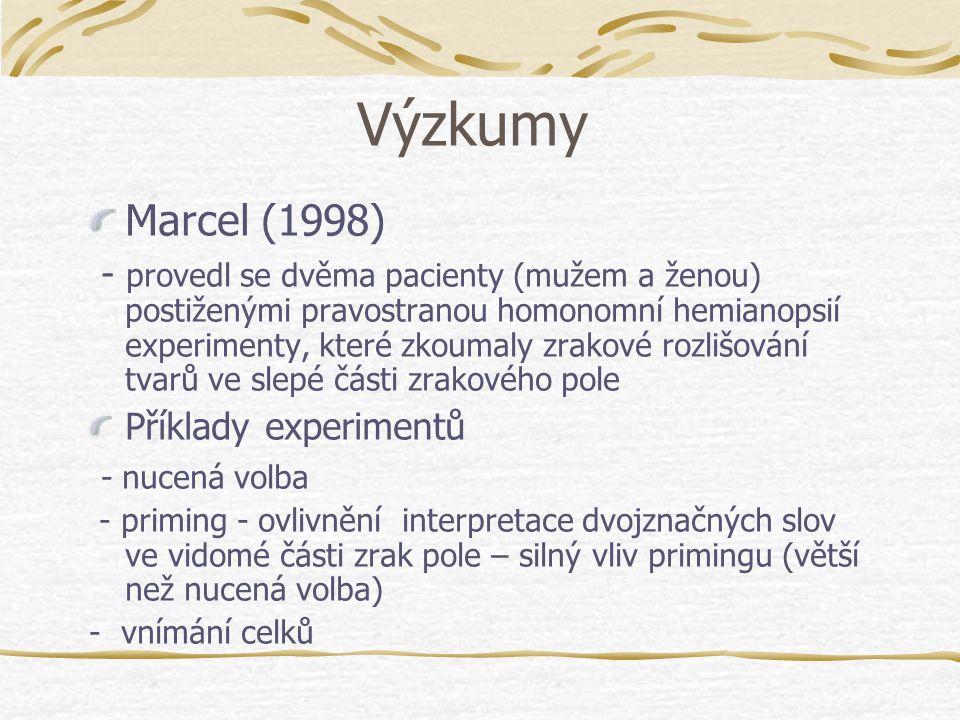 Výzkumy Marcel (1998)