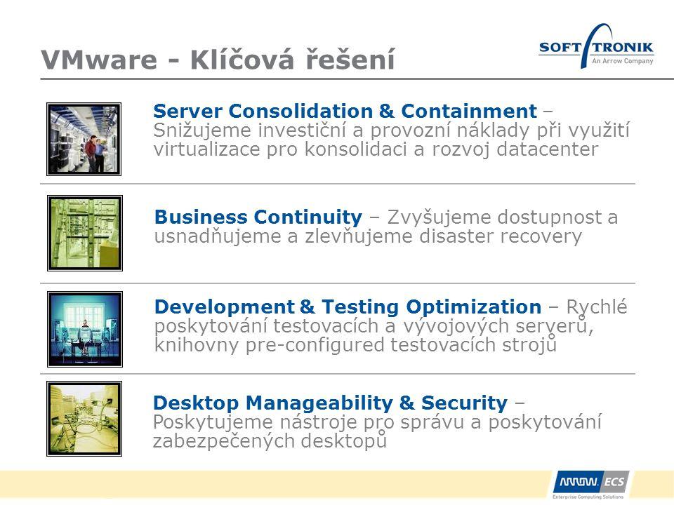 VMware - Klíčová řešení