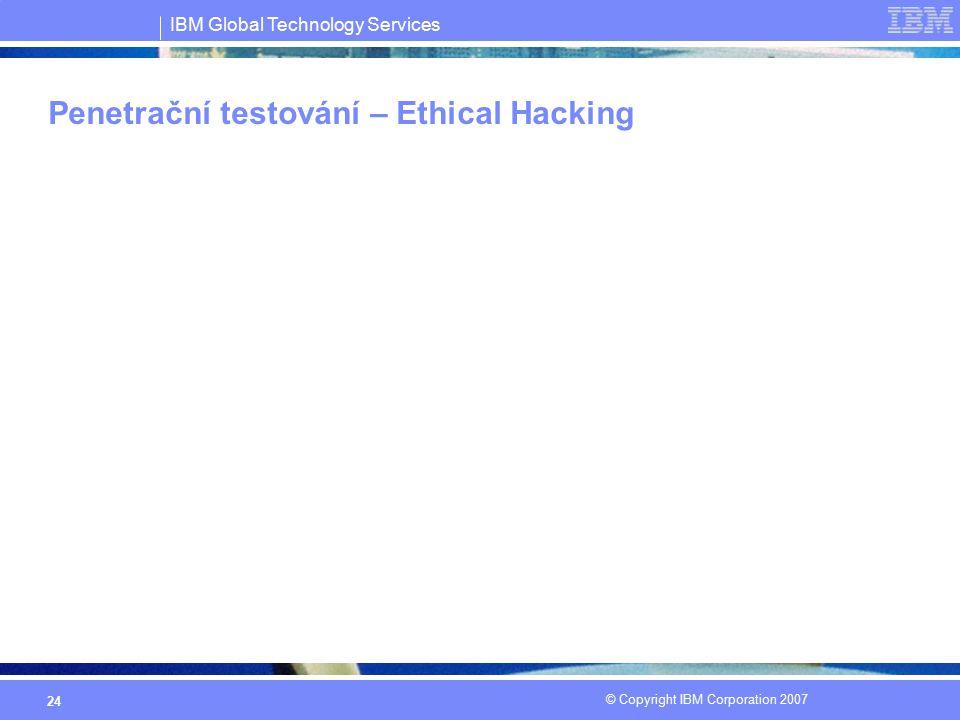 Penetrační testování – Ethical Hacking