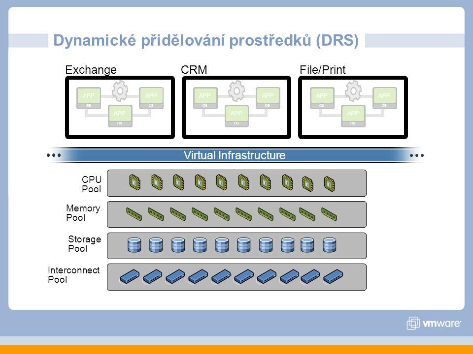Dynamické přidělování prostředků (DRS)