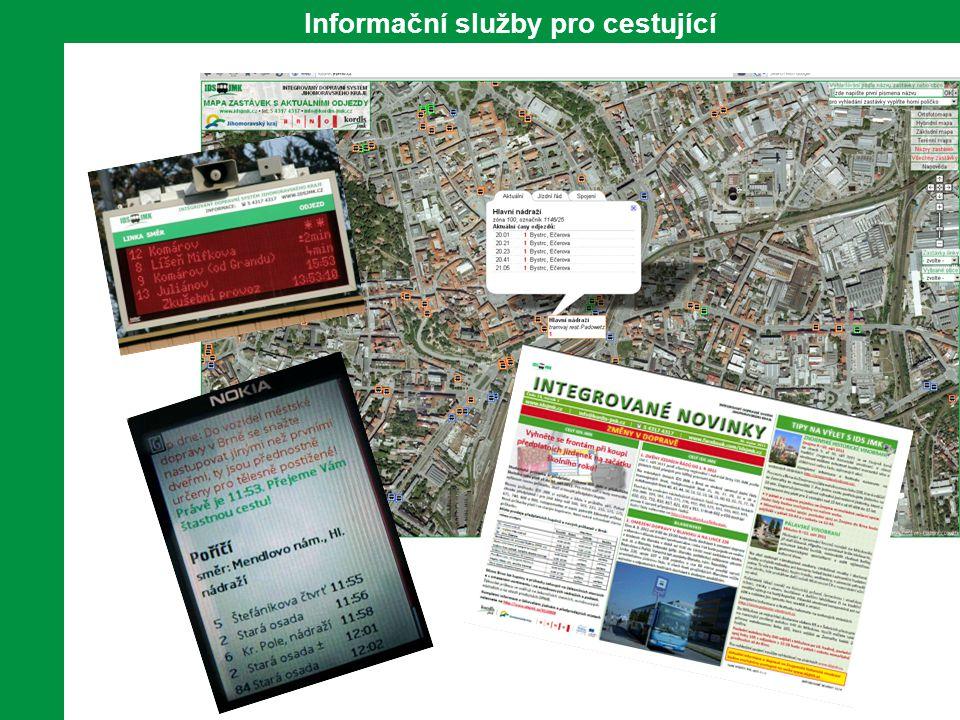 Informační služby pro cestující