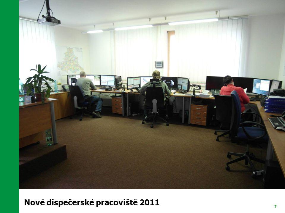 Nové dispečerské pracoviště 2011
