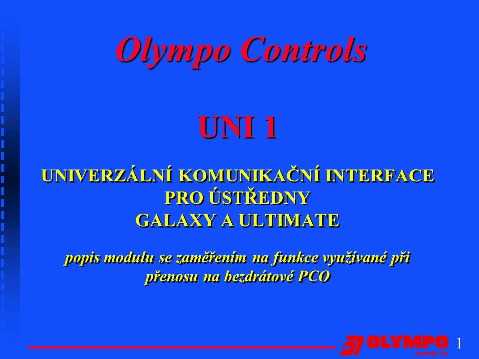 Olympo Controls