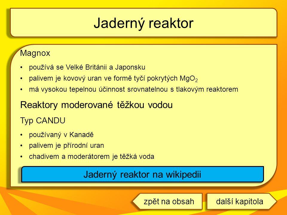 Jaderný reaktor na wikipedii