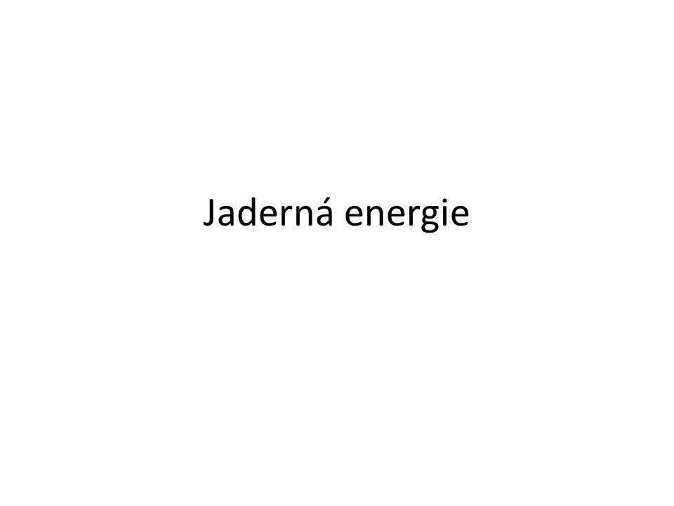 Jaderná energie