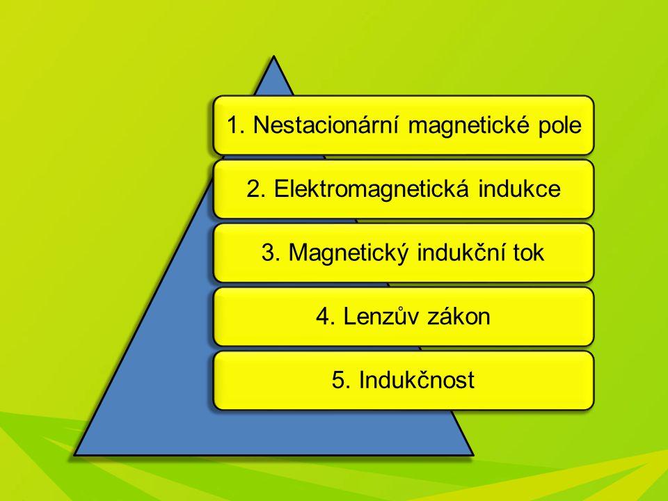 1. Nestacionární magnetické pole