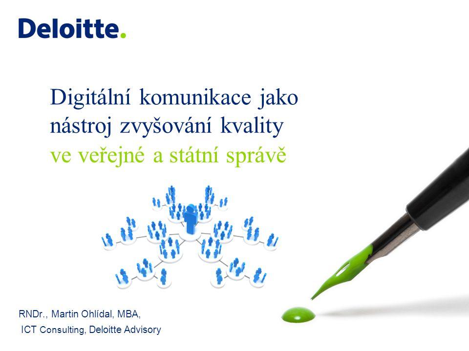 Digitální komunikace jako nástroj zvyšování kvality