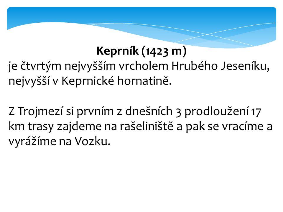 Keprník (1423 m) je čtvrtým nejvyšším vrcholem Hrubého Jeseníku, nejvyšší v Keprnické hornatině.