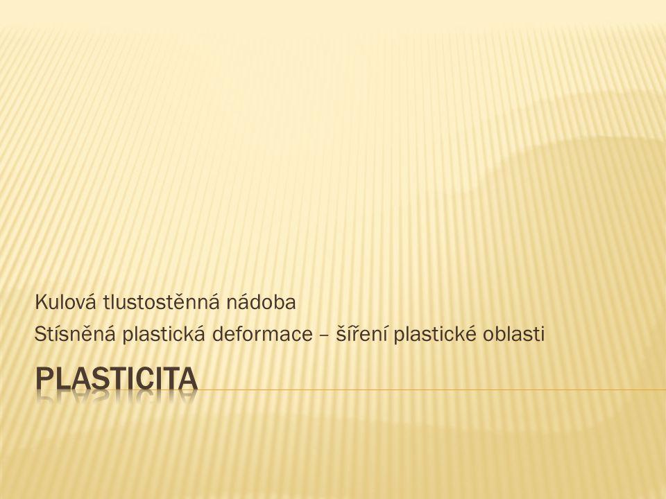 Plasticita Kulová tlustostěnná nádoba