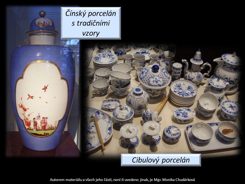 Čínský porcelán s tradičními vzory