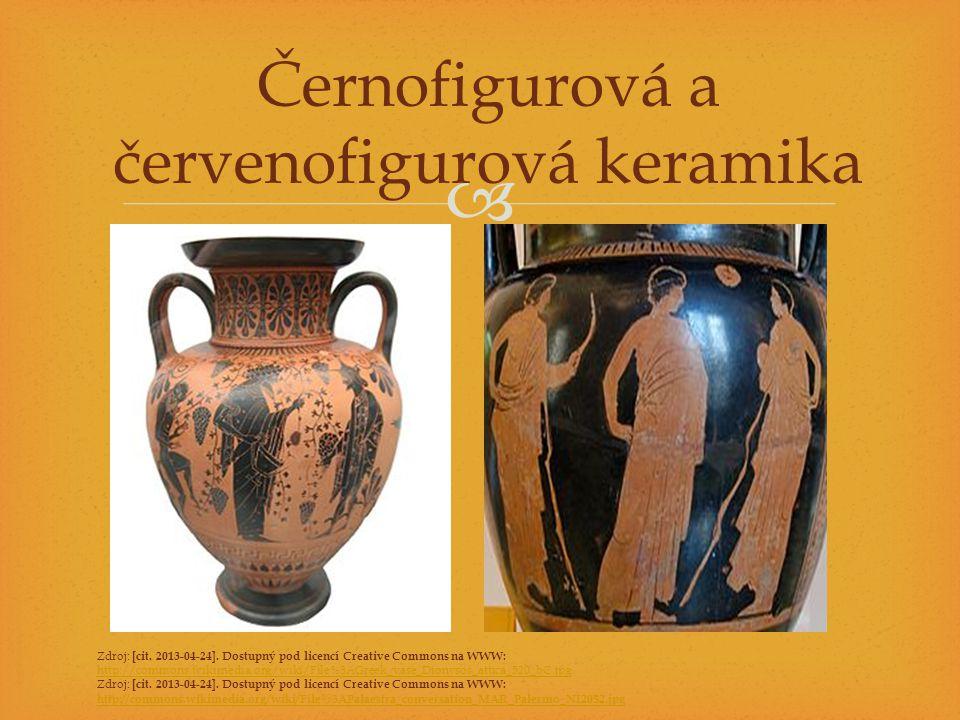 Černofigurová a červenofigurová keramika