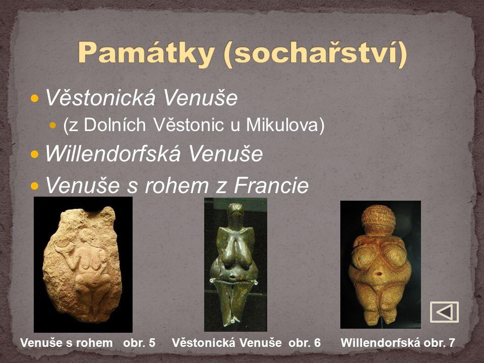 Památky (sochařství) Věstonická Venuše Willendorfská Venuše