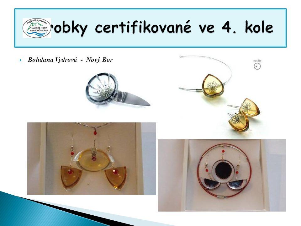 Výrobky certifikované ve 4. kole