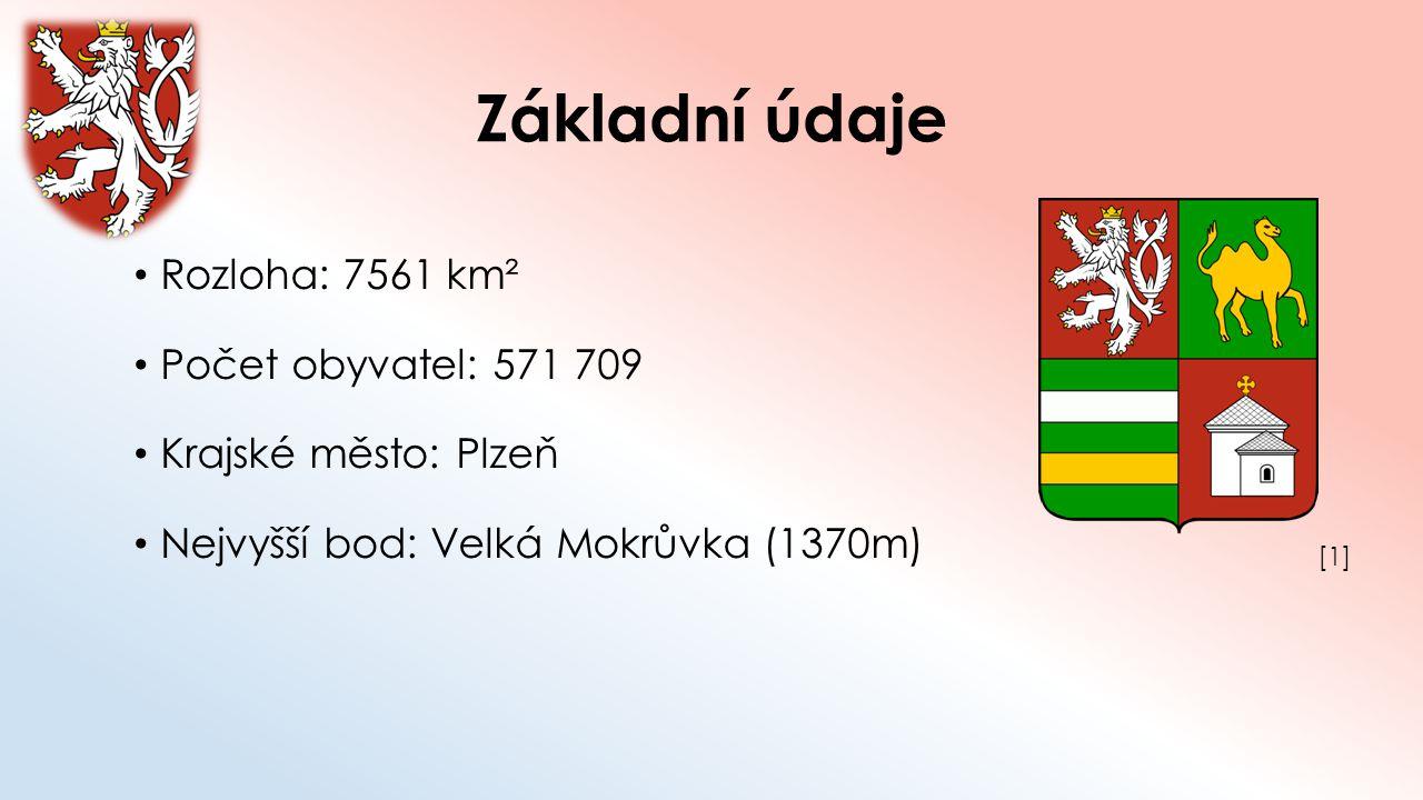 Základní údaje Rozloha: 7561 km² Počet obyvatel: 571 709