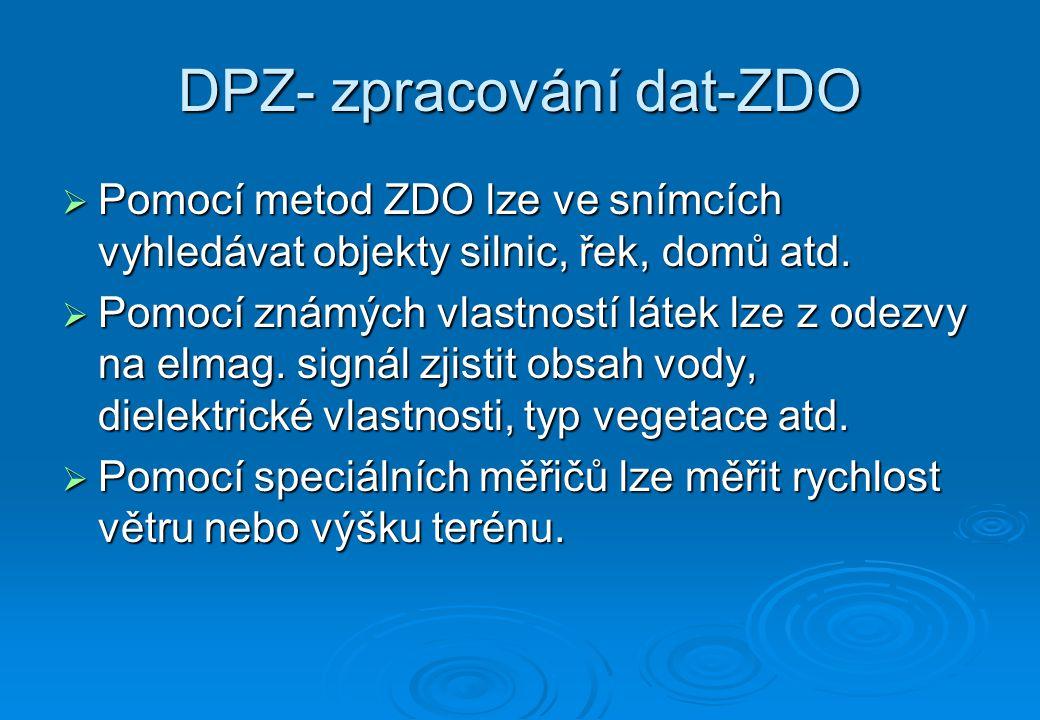 DPZ- zpracování dat-ZDO
