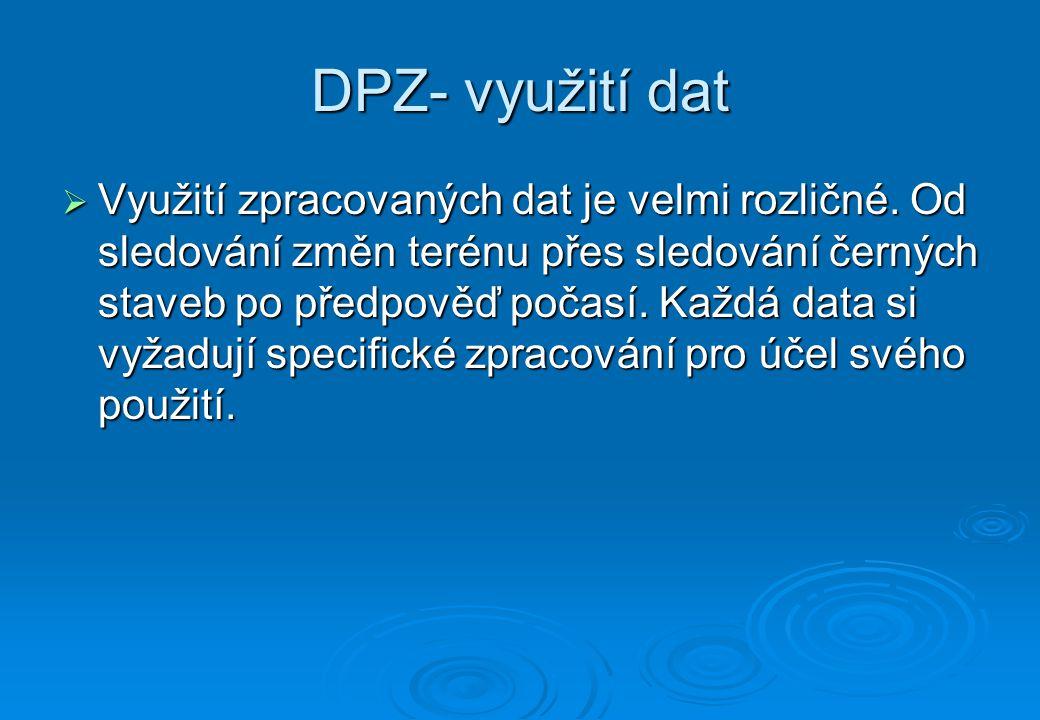 DPZ- využití dat