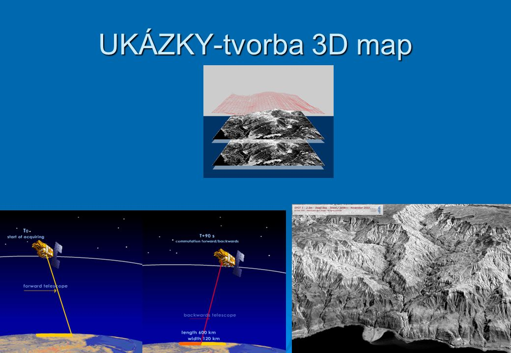 UKÁZKY-tvorba 3D map