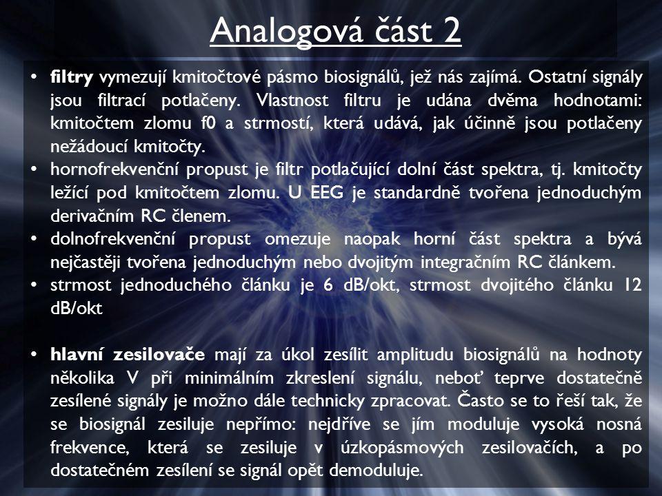Analogová část 2