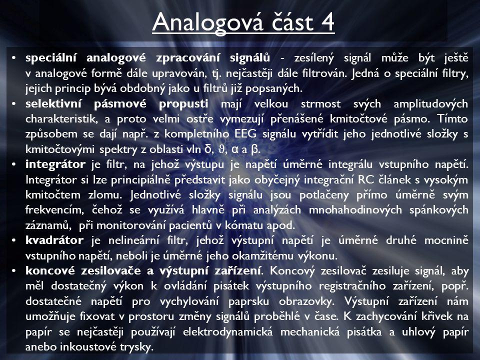 Analogová část 4