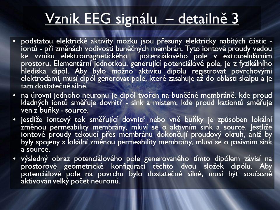 Vznik EEG signálu – detailně 3