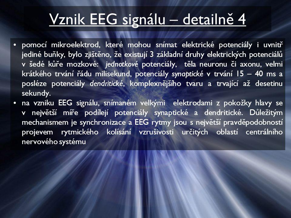 Vznik EEG signálu – detailně 4