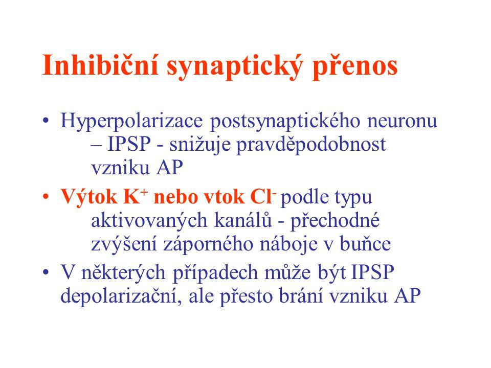Inhibiční synaptický přenos