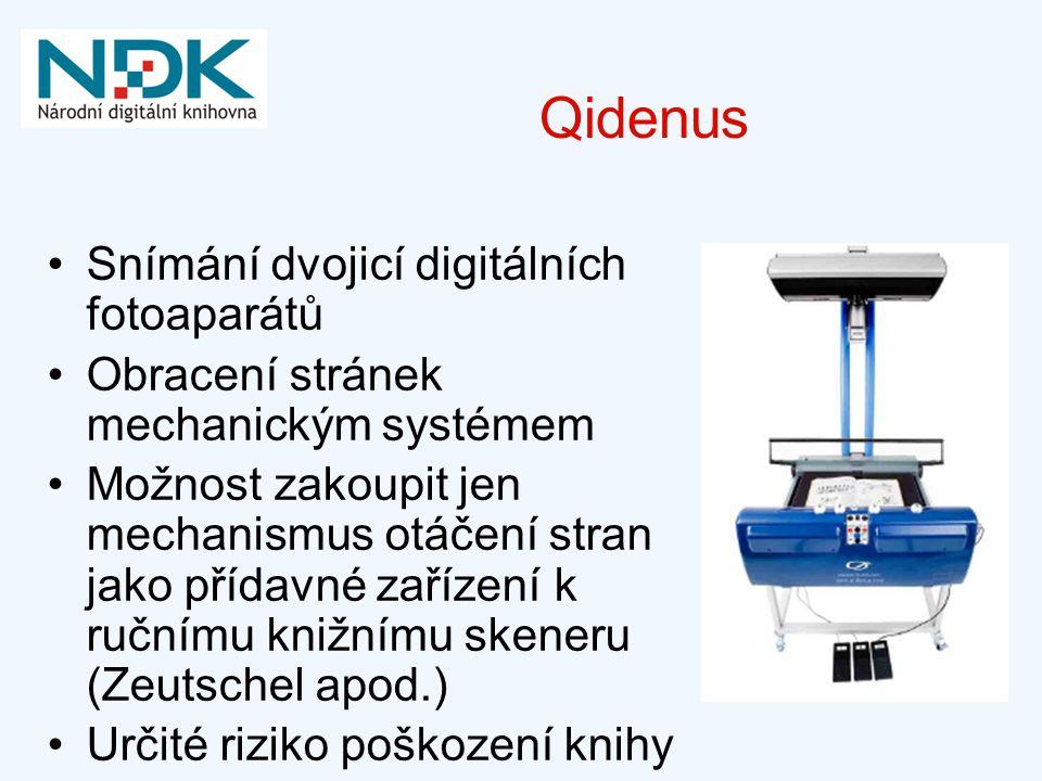 Qidenus Snímání dvojicí digitálních fotoaparátů