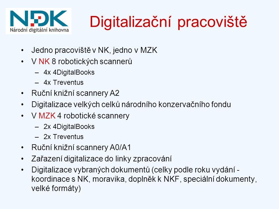 Digitalizační pracoviště