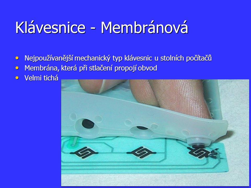 Klávesnice - Membránová